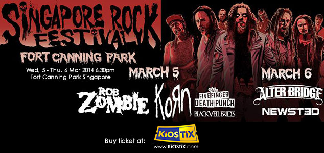 Singapore Rock Festival 2014