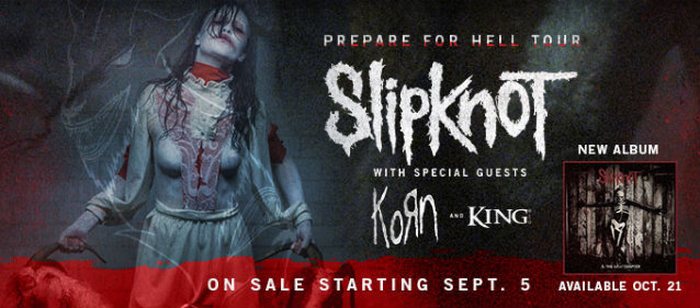 "Slipknot ""Prepare For Hell"" Tour"