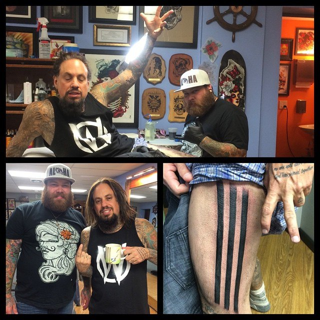 Fieldy new tattoo