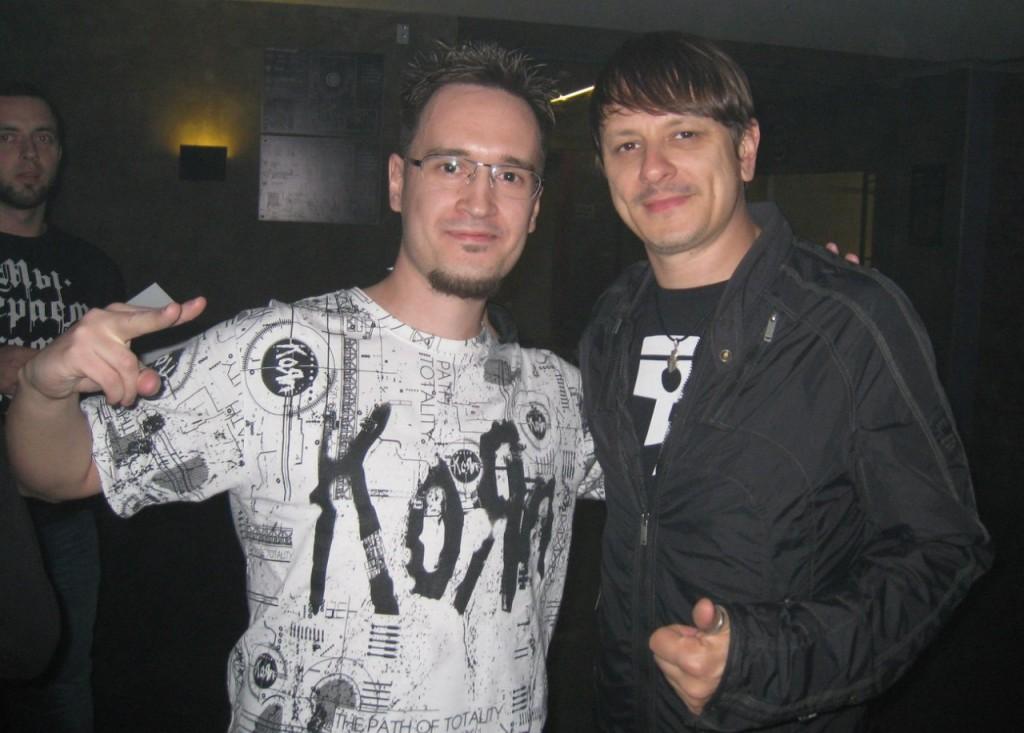 KoRn VIP Experience (Listening Session) Saint-Petersburg, Russia 2014