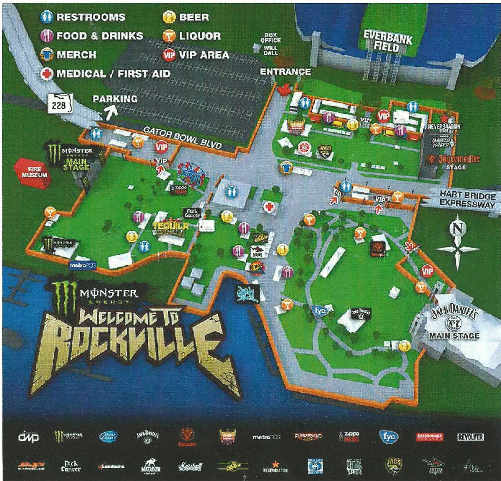 Welcome to Rockville 2015 Map
