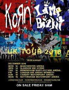 2016 UK Tour Poster
