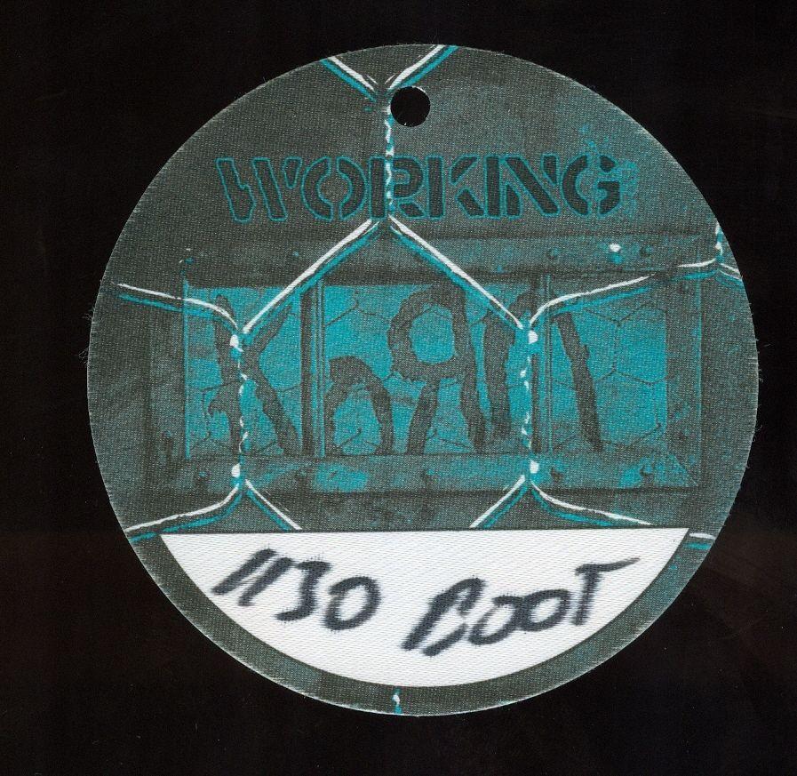 Working Pass